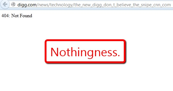 Digg Nothingness