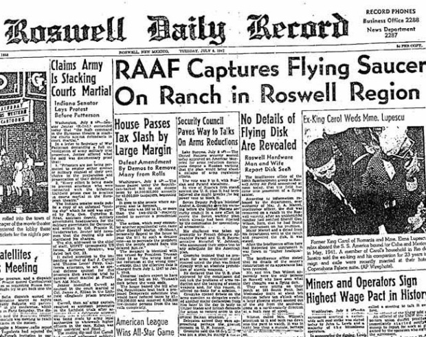 Roswell Press Release
